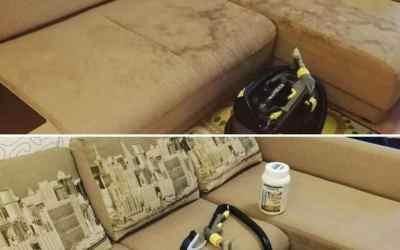 Глубинная химчистка мебели и ковров оказываем услуги