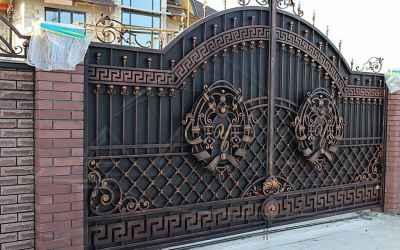 Кованные ворота Художественная ковка оказываем услуги