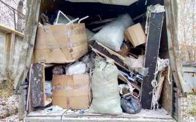 Вывоз строительного и бытового мусора оказываем услуги
