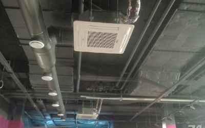 Монтаж систем вентиляции и кондиционирования оказываем услуги