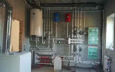 Монтаж отопления, вентиляции, электрики оказываем услуги