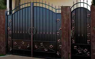 Ворота решетки забор козырек мангал оказываем услуги