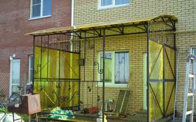 Навесы, заборы, ворота и другие металло изделия оказываем услуги