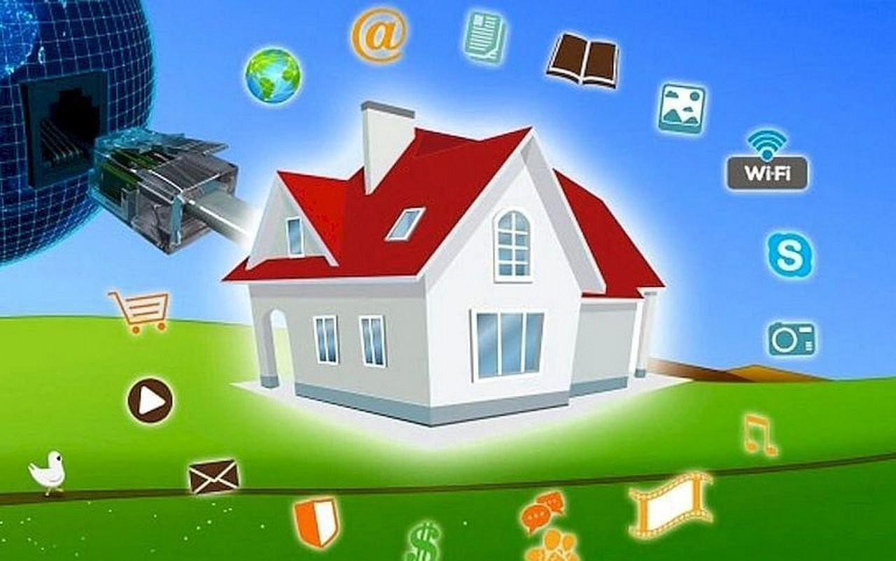 Подключение Интернета в частный дом оказываем услуги