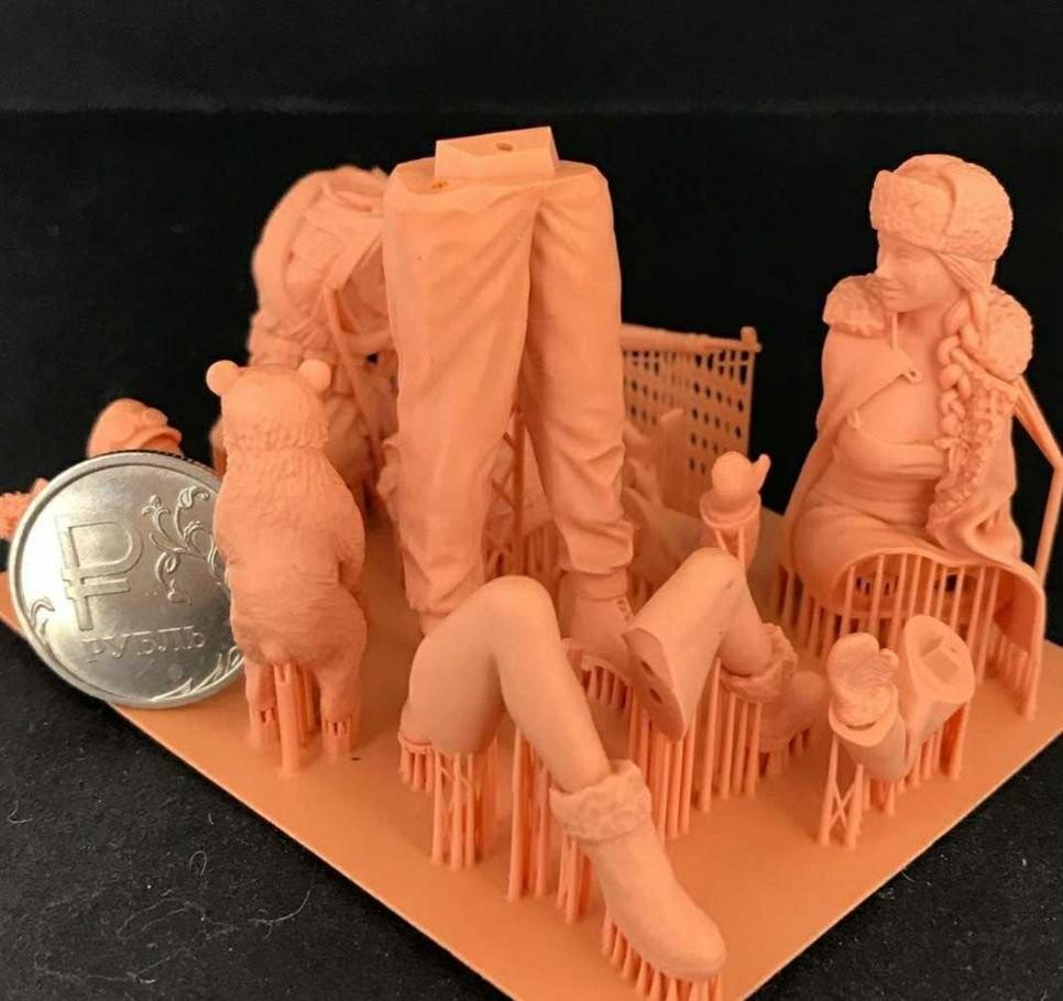 3Д Печать/фотополимер/Моделирование оказываем услуги