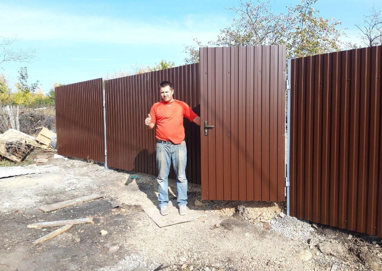 Забор, дача, навесы, теплицы, ворота оказываем услуги